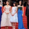 第68回カンヌ国際映画祭 日本女優たちがレッドカーペットに登場